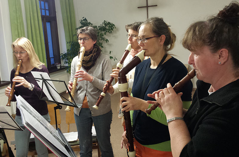 Flötenkreis Kirchgemeinde Radeburg