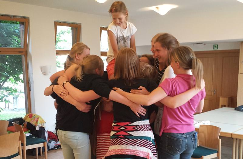 Kinder- und Jugendchor der Kirchgemeinde Radeburg