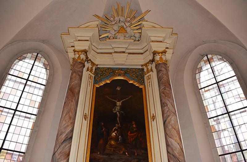 Innenansicht Stadtkirche Radeburg