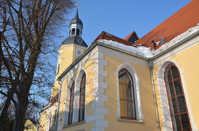 Ansicht Stadtkirche Radeburg