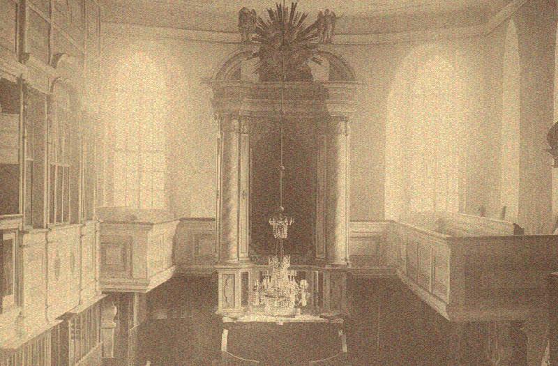 Alte Innenansicht Kirche Radeburg