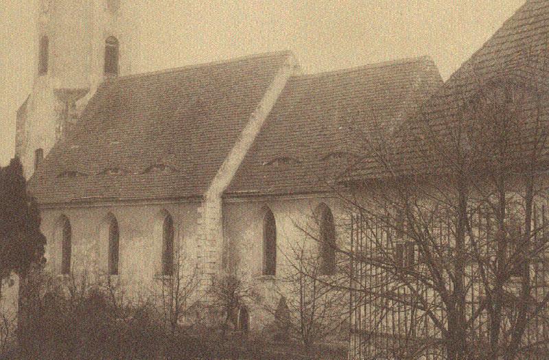 Alte Ansicht Kirche Radeburg