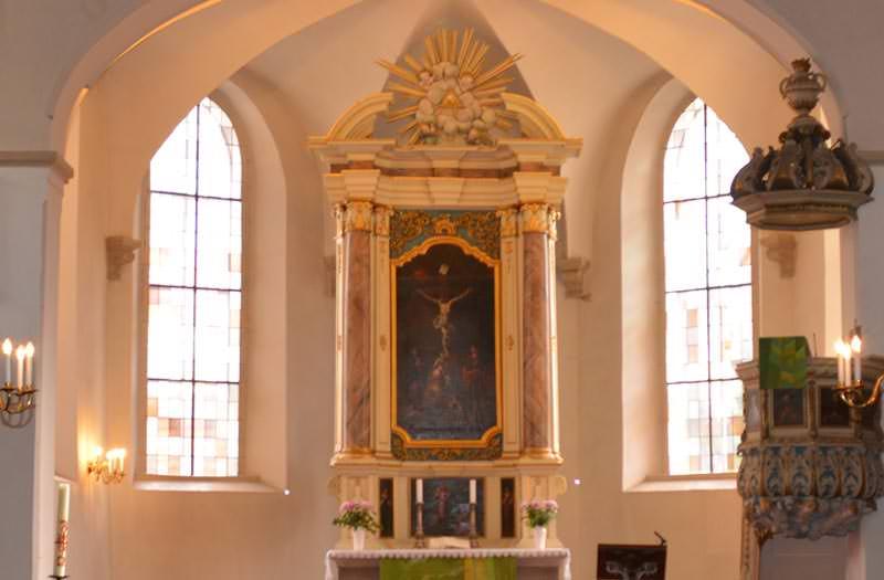 Newsfoto Innenansicht Kirche Radeburg
