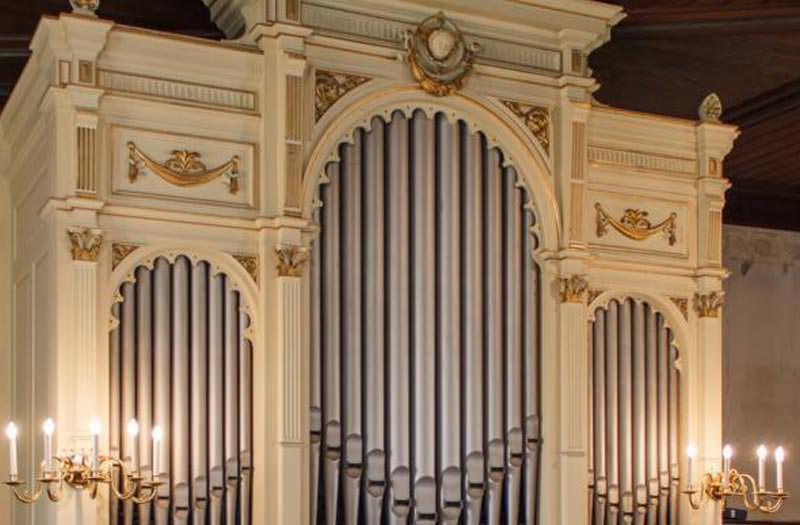 Orgel der Stadtkirche Radeburg